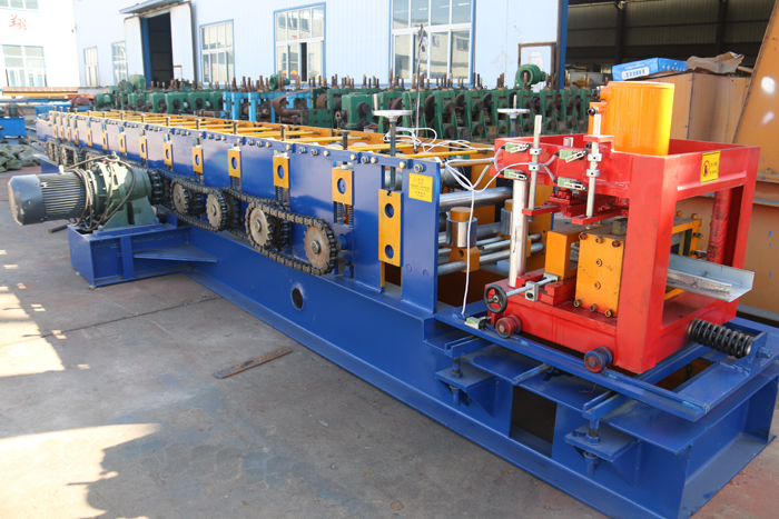 2017 new product hydraulic cutting metal channel C Zshape profile purlin roll forming machine