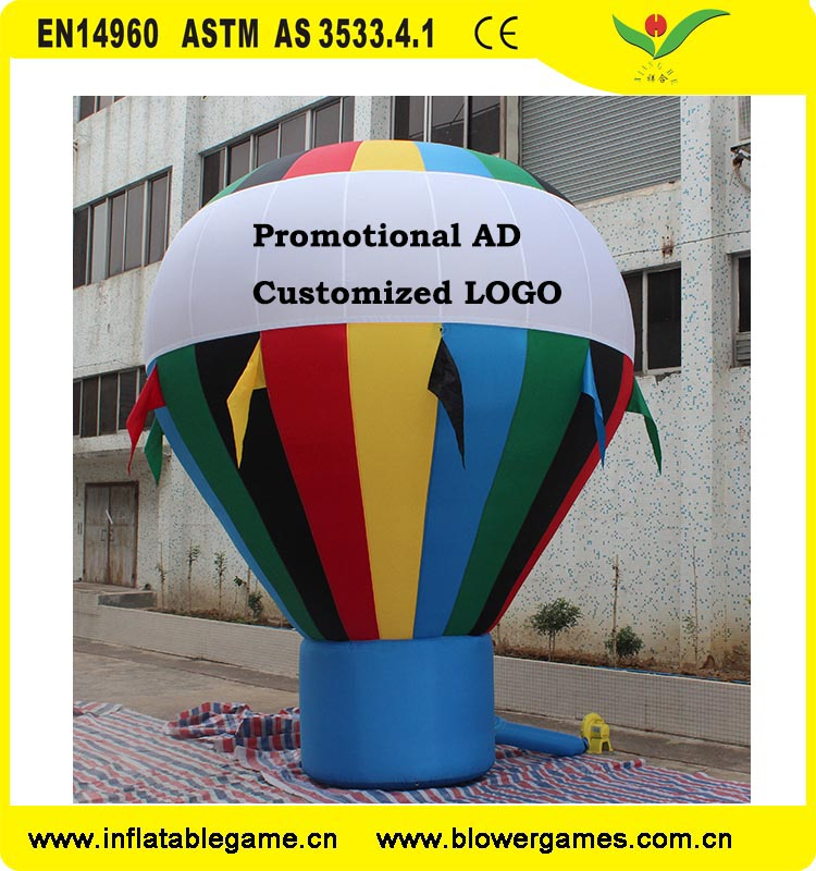 Inflatable Hot Air Shape Advertising Rooftop Balloons