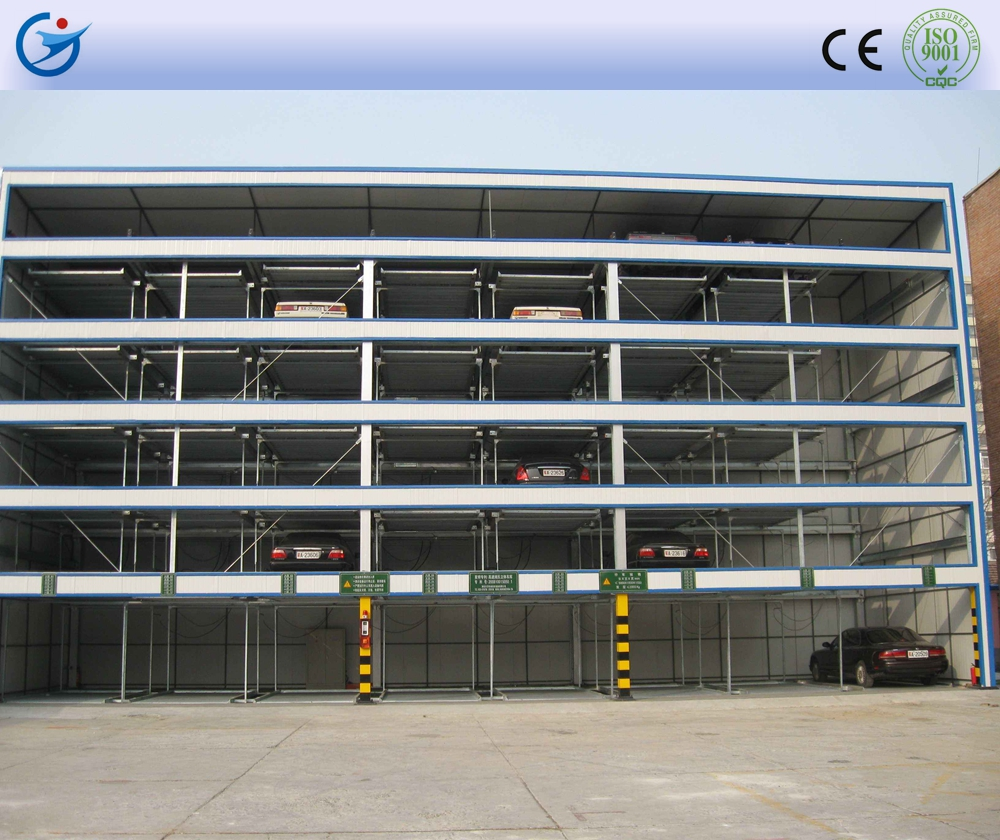 Hospital use vertical rotary parking system for dubai welcome