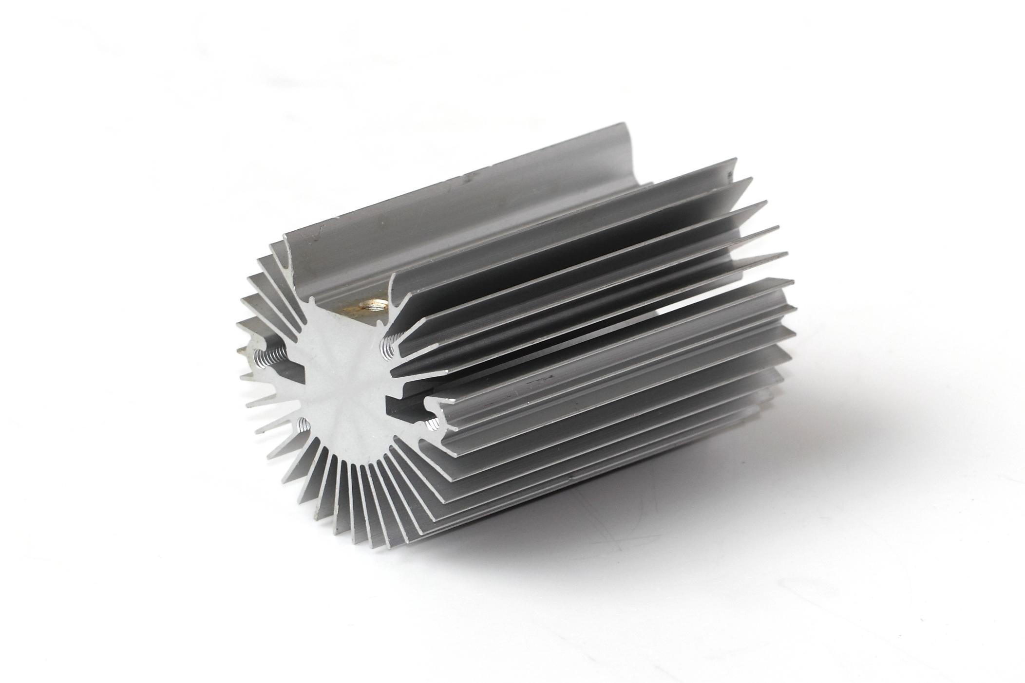 Aluminum extruded heat sink