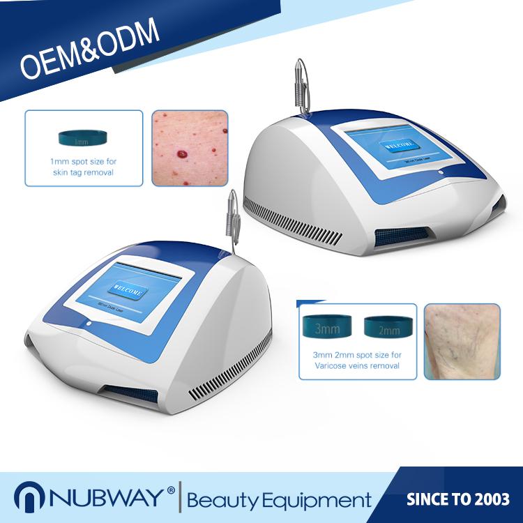 Nubway most popular Professional treatment diode laser980nm spidervein/blood vesselsremoval machine