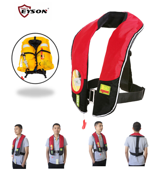 Neck type fashionabale inflatable life jacket