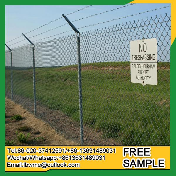 Pittsburgh playground chain link fence New York diamond wire netting factory price