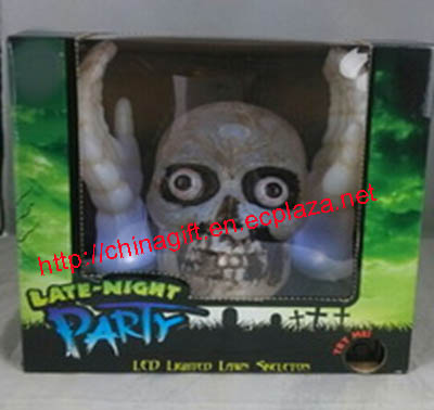Led lighting skull head & hand