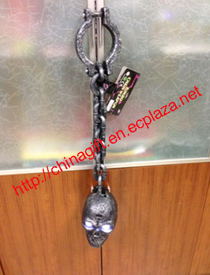 Horror Props Large Skulls Chain shackles