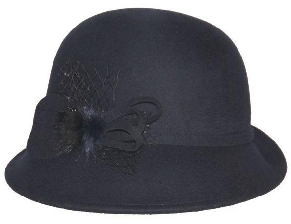 wholeale bowler hat,lady felt hat,lady hat