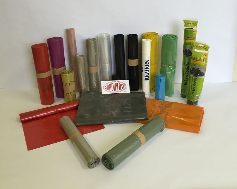 Plastic Sacks and Bags for the Separate Collection of Waste