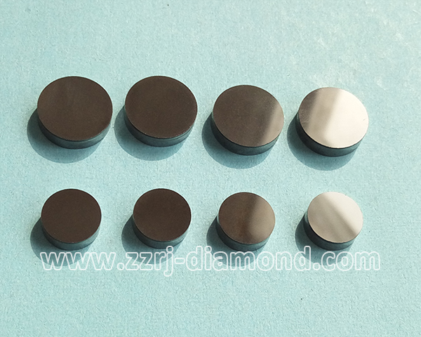 Round Polishing Surface 1308/1304 PDC Cutters/ PCD Cutter Blanks