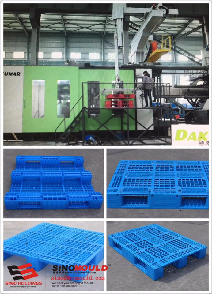 Industry Pallet Injection Mold and Machine