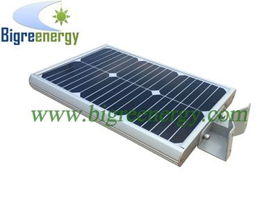 Solar lamp with motion sensor 12W