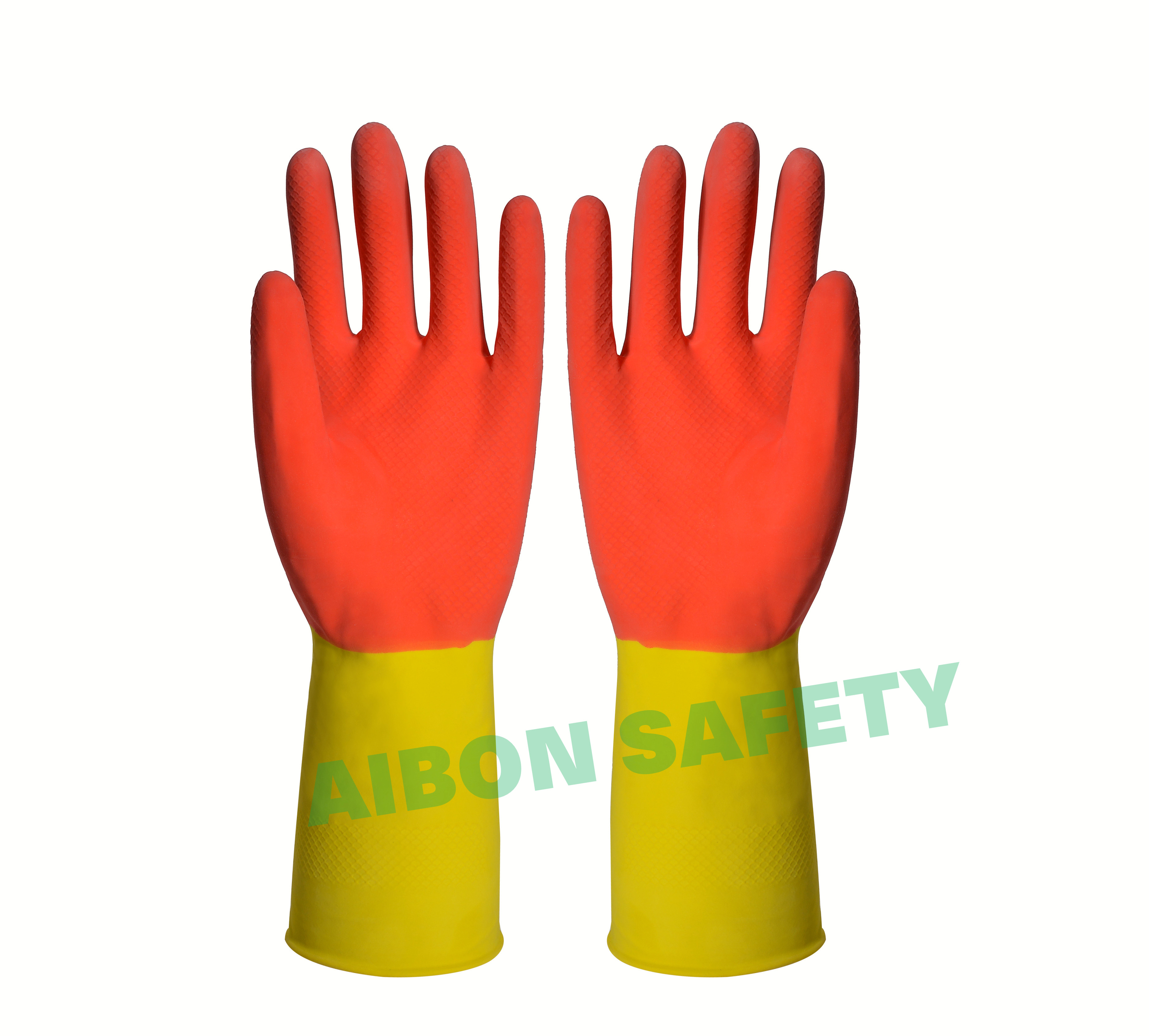 double color household rubber glove manufacturer