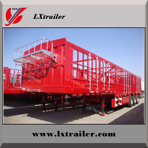 china Liangshan fence semi-trailer 40 ton lowbed semi trailer