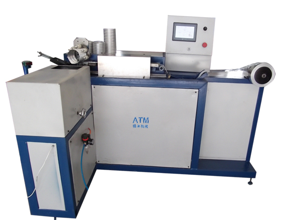 spiral flexible aluminum duct making machine ATM-A300A