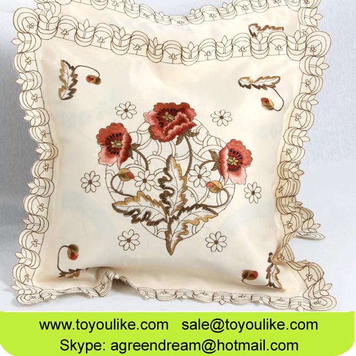 Fashion Home Decor Cushion Cover Embroidered Decorative Throw Pillowcases 4545