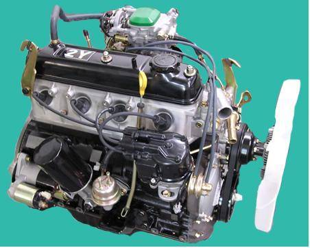 двигатель 2y toyota