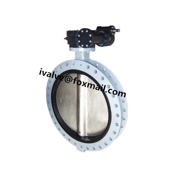 U-Section Gearbox Butterfly Valve