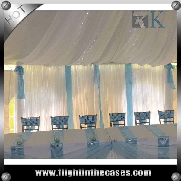 RK wholesale pipe and drape party decoration decorations wedding