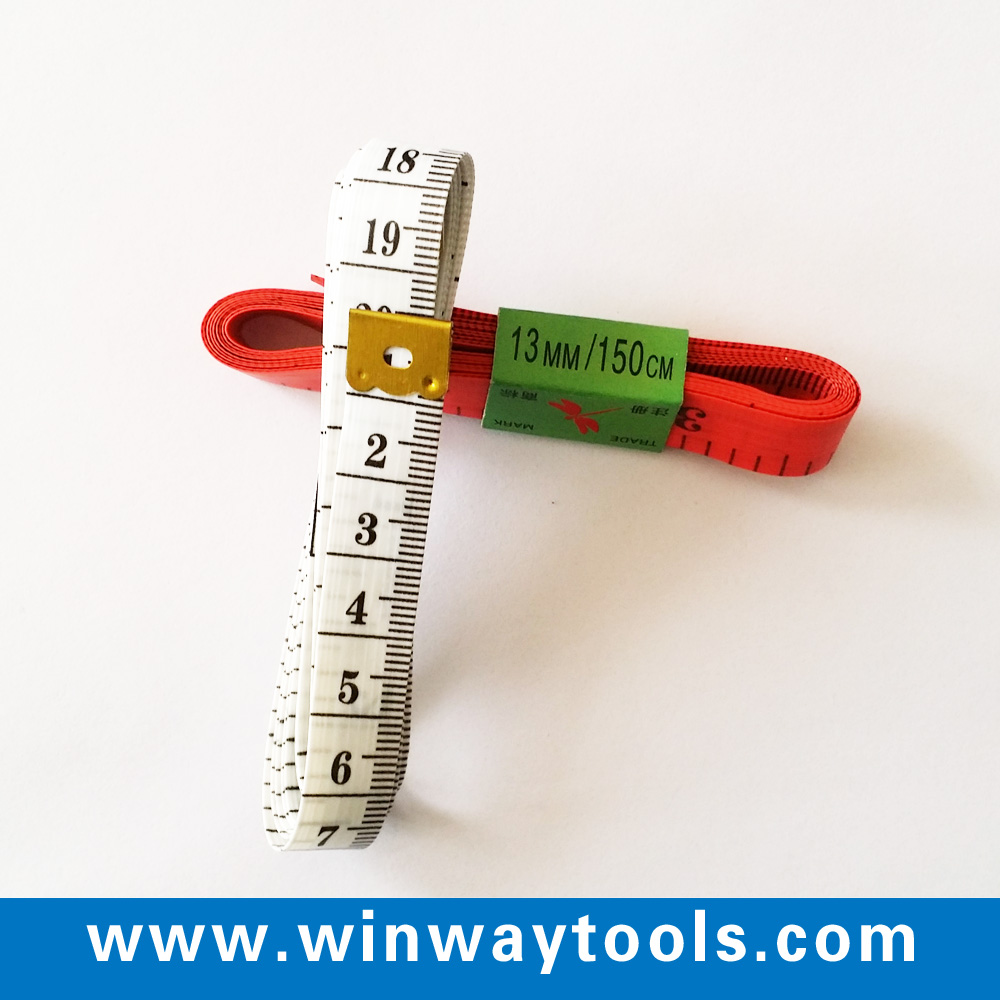 150cm 60inch customized pvc fiberglass tape measure