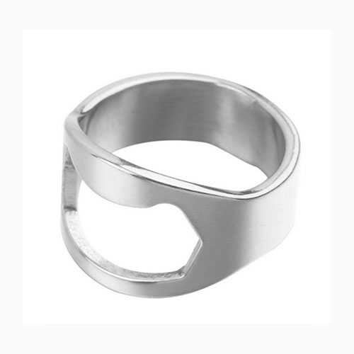 Cool Stainless Steel Ring Bottle Opener