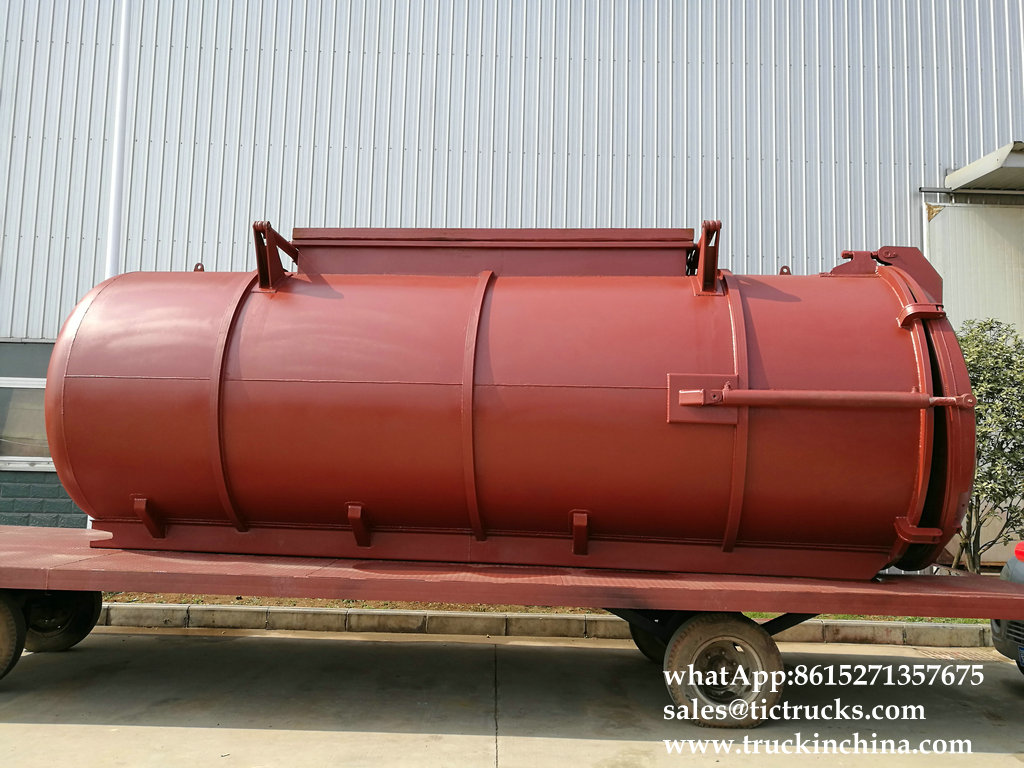 Septic Tank body for seweage suction truck sale,9000L 10800L,