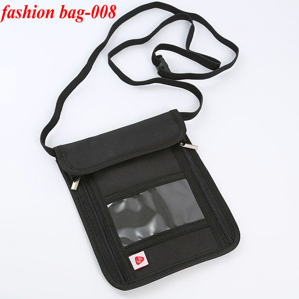 Multifunction Passport Credit Card holder wallet Travel Security Neck Pouch