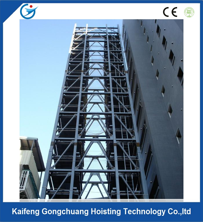 New compact automatic car lift parking tower system