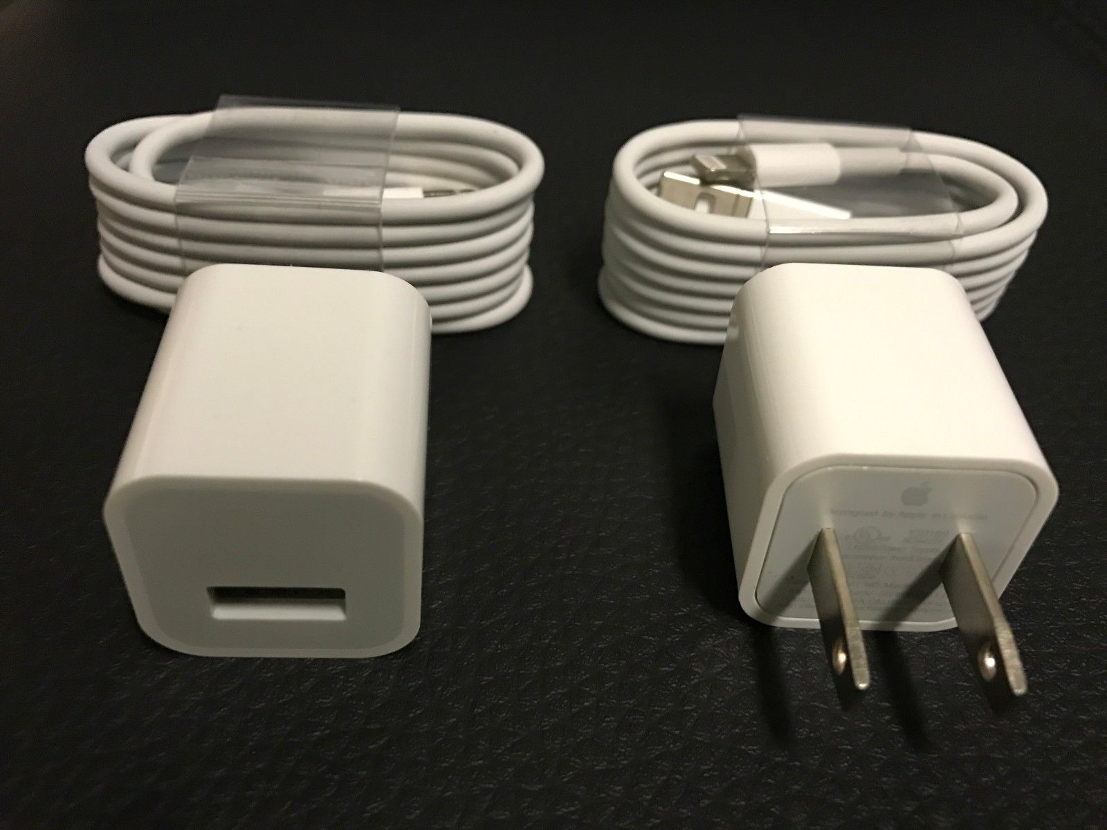 OEM Original Wall Charger Adapter USB Lightning Cable for 5s/6s/7s