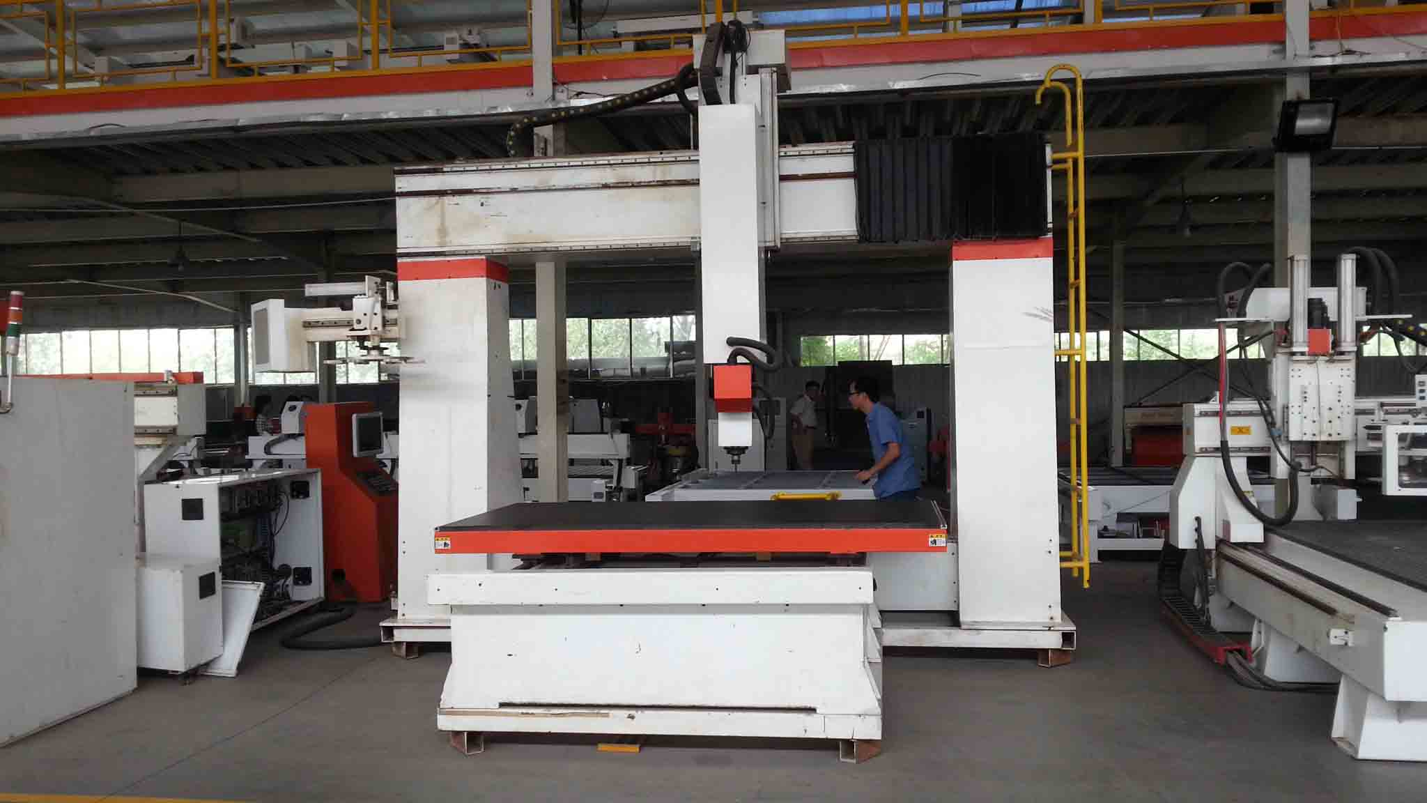 chinese manufacturer 5 axis cnc router machine 1224