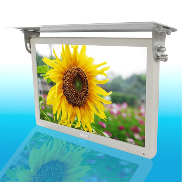 19 inch TFT type flip down bus lcd monitors price with HDMI/VGA/USB Input