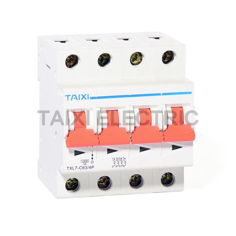 TXL7-63 Miniature Circuit Breaker