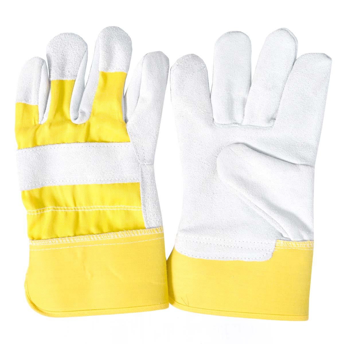 Split Leather Work Gloves