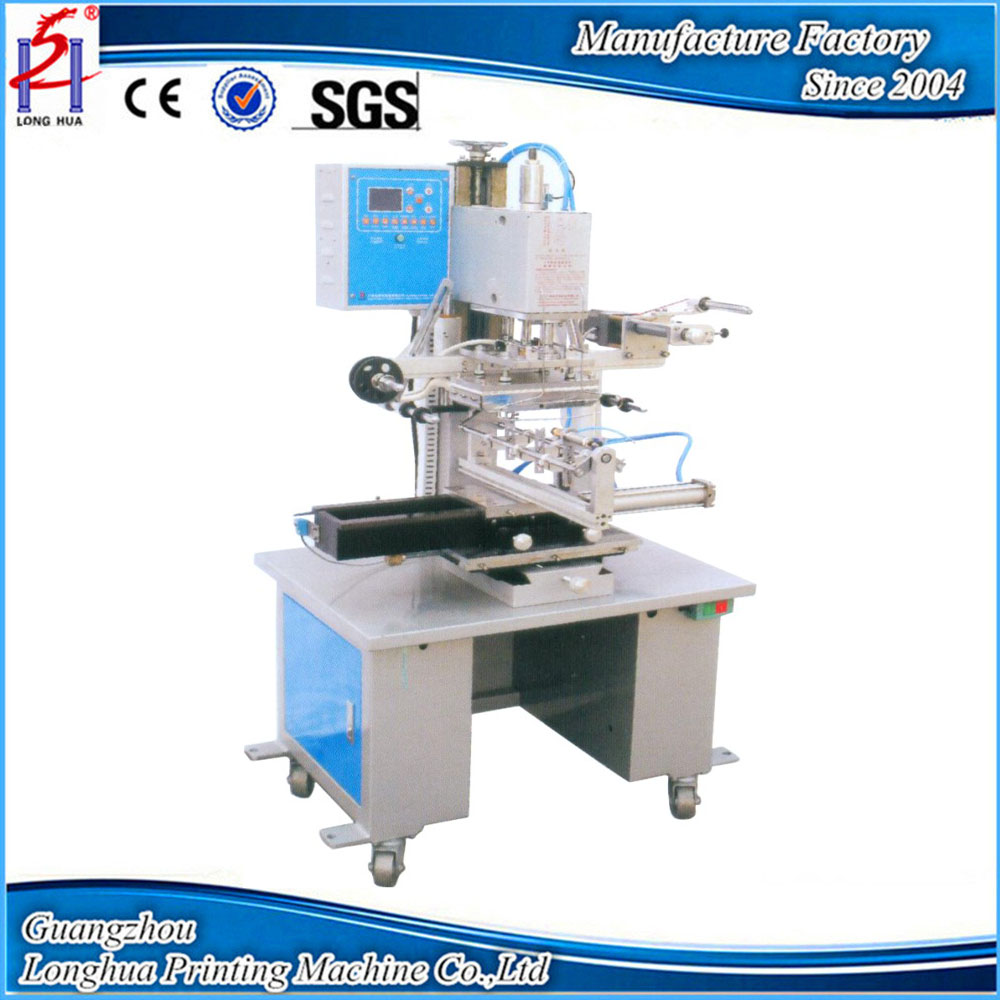 Flat And Curved Semi-Automatic For Glass Bottle ,Plastic Digital Hot Foil Stamping Machine for Sale