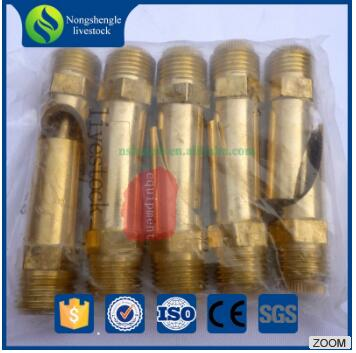Nongshengle Poultry pig drinking equipment /nipple drinker for piglet/pig farming equipment