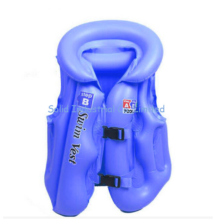 Portable Comfortable Learn Swimming Inflatable Swim Vest