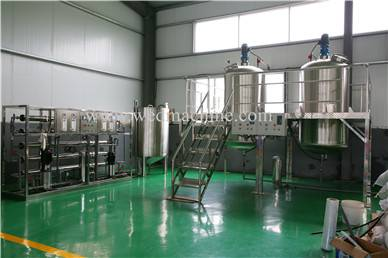 Dishwashing Liquid Production Line