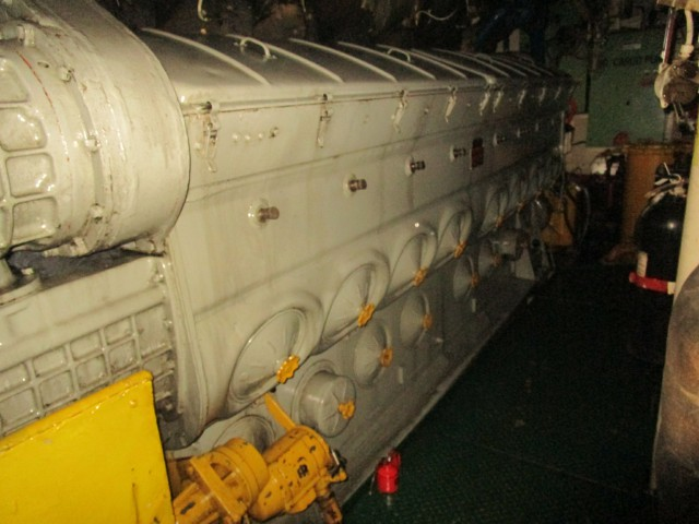 FABRICATING 16645C Engine