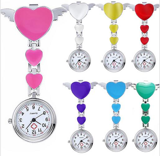 Yxl-271 Factory Rubber Nurse Watch, Doctor Pocket Watch/Fob Medical Watch Hot Sale Cheapest
