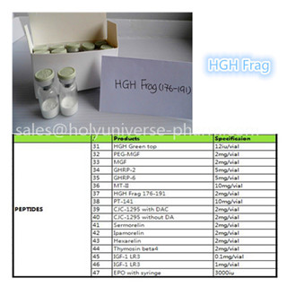 Lyophilized hgh frag 176-191 Human growth hormone fragment Fat loss peptide Cas121062-08-6