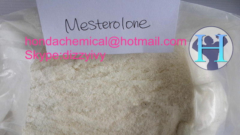 99% Anabolic Steroids Powder Mesterolone Proviron for Muscle building steroids raw cas 360-70-3
