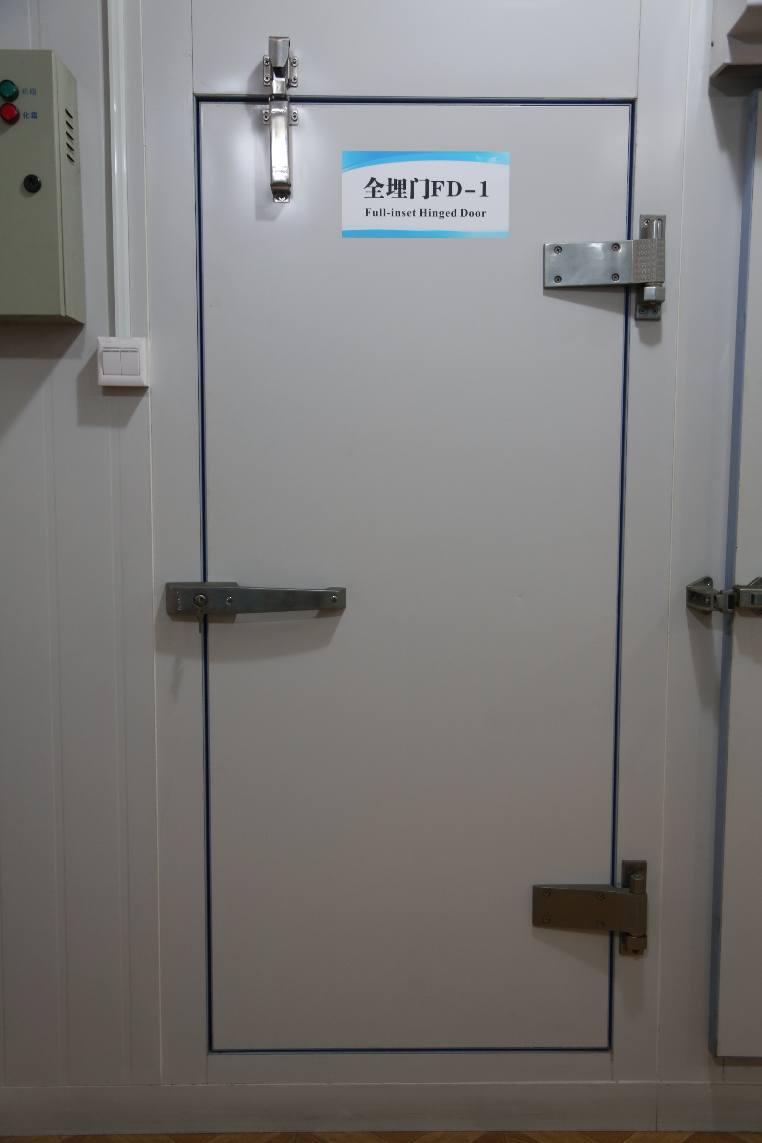 full-buried hinged cold room door