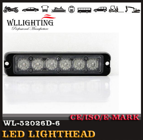 High Intensity surface mount grille LightHead
