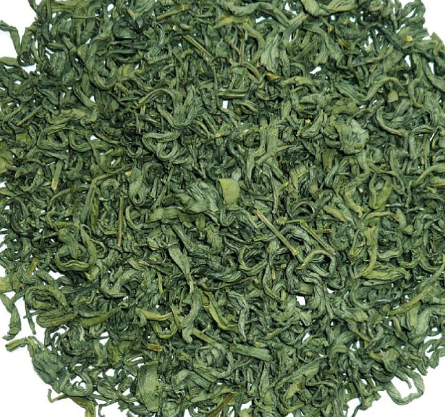 Chinese supply organic green tea