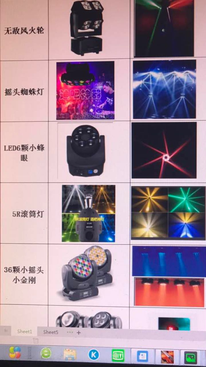 LED New Stage Light