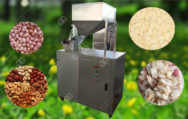 Commercial Peanut|Nuts Slice Cutting Machine