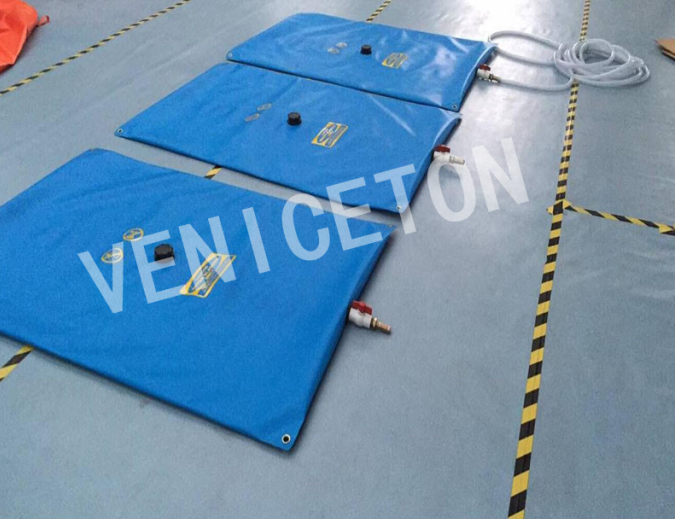 Custom size flexible and foldable PVC pillow tank for aquaculture irrigation