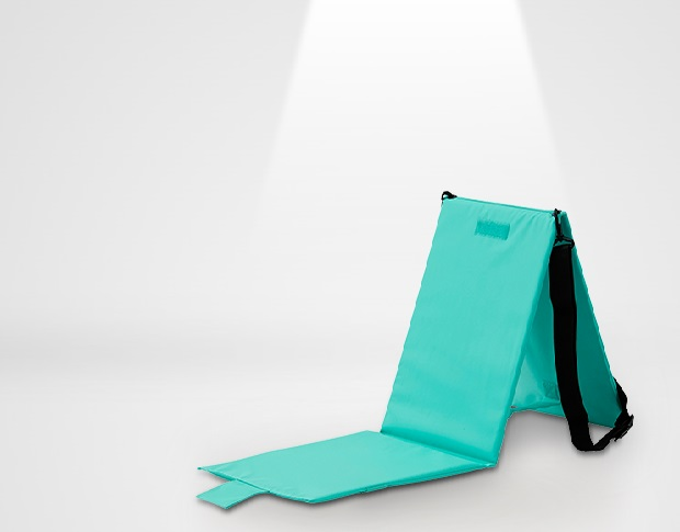 C300 Picnic Poldable Foldable Chair and Mat SET for Outdoor
