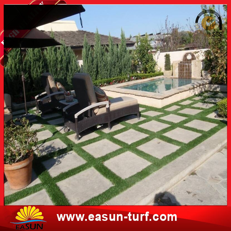 Ornamental landscaping artificial turf grass for artificial football field grass price