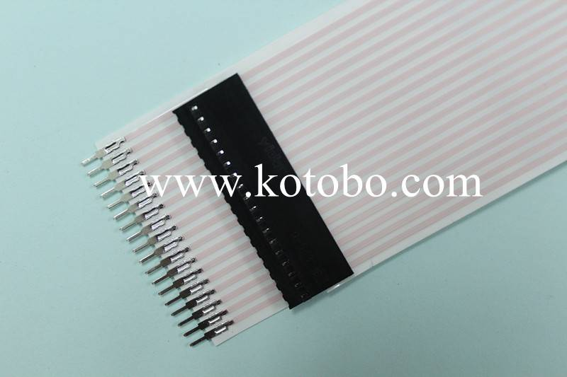 Type-OD FFC 2.54 pitch FFC wire connection terminal - KOTOBO ...