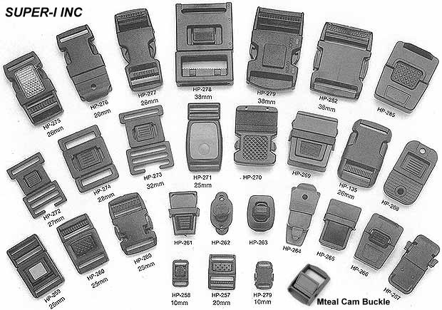 plastic buckle, snap buckle, release buckle, cam buckle, cell phone buckle, insert buckle, plastic s