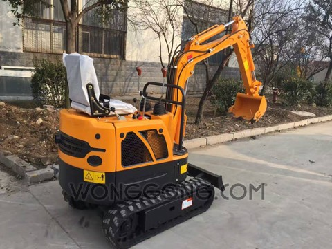 UNIONTO ME-09 Mini Crawler Excavator